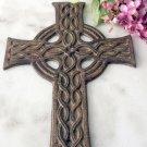 Set of 4 cast iron crosses