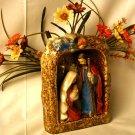 Holy Family Nativity Stoneware