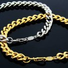 8 inch 6 mm Link Bracelet. Set of two