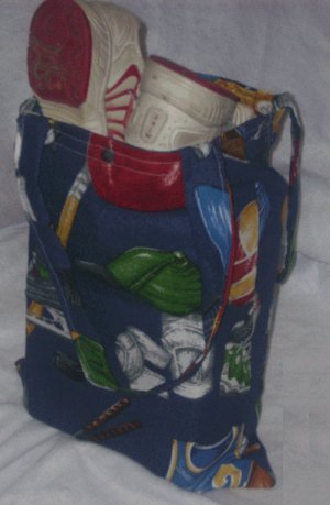 Sport Themed Tote Bag