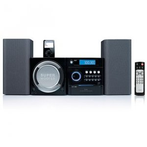 Jwin I7500 Mini MP3 Stereo System with iPod Docking Station