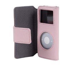 Belkin Leather Folio Case for nano 1G/2G - Pink
