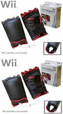 Boxing Gloves for the Nintendo Wii (2 Sets)