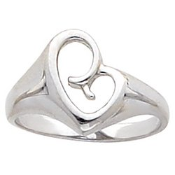 A Mother's Love 14K White Gold Ring