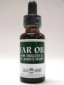 Ear Oil w/Mullein & St. John's Wort 1 oz