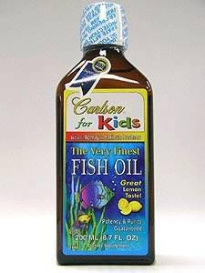 Carlson® for Kids Fish Oil Lemon Flavor 200 ml