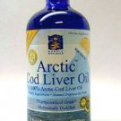 Arctic Cod Liver Oil Liquid - Lemon 8 oz