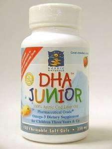 DHA Junior - Strawberry Chewable 180 gels