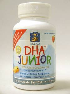 DHA Junior - Strawberry Chewable 180 gels
