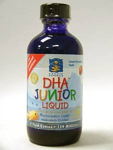 DHA Junior Liquid Strawberry 4 oz