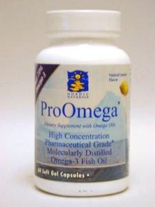ProOmega Fish Oil - Lemon 60 gels