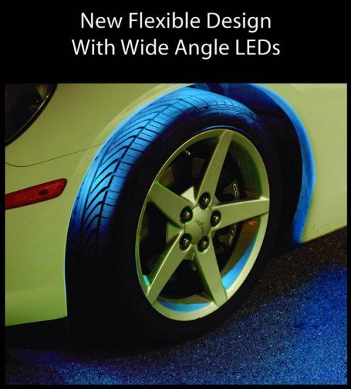 FLEXIBLE LED WHEEL WELL KIT