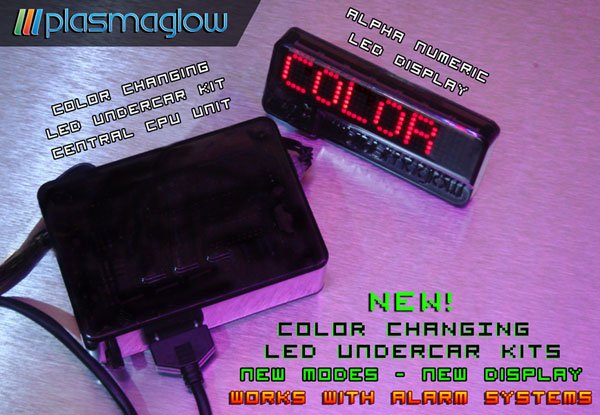 COLOR CHANGING CONTROLLER WITH SCROLLING LED DISPLAY