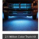 2.1 MILLION COLOR LED UNDERCAR KIT(TRUCKS)