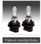 Platinum Series headlights - 10 year warranty