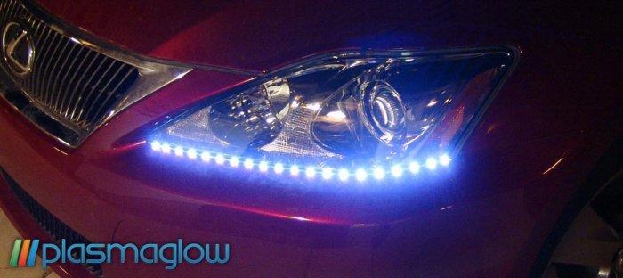 LIGHTNING EYES LED HEADLIGHT KIT - blue
