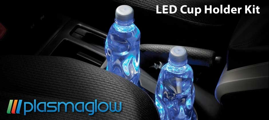 LED Cup Holder Kit - red