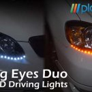 LIGHTNING EYES LED DUO HEADLIGHT KIT(AMBER/WHITE) - FREE SHIPPING