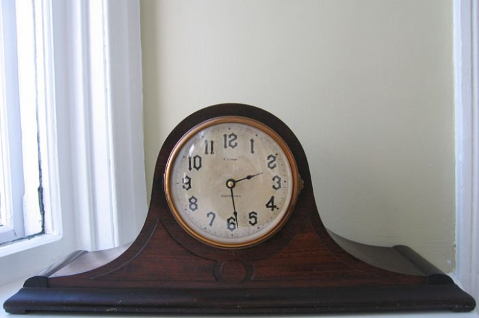 Wooden Tambour with new movement