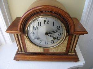 Large Mantle Clock c 1890