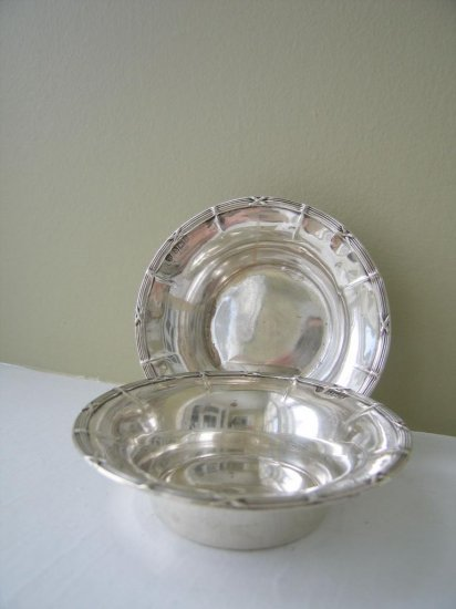 Sterling Dishes, Birmingham 1906