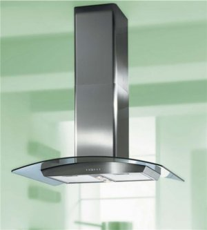 30 inch stainless steel island glass range hood, best seller
