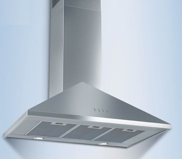30 inch Brushed Stainless Steel Wall Mount Range Hood.