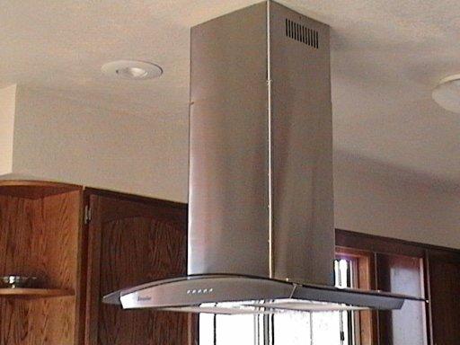 36 inch glass stainless steel island range hood, best seller