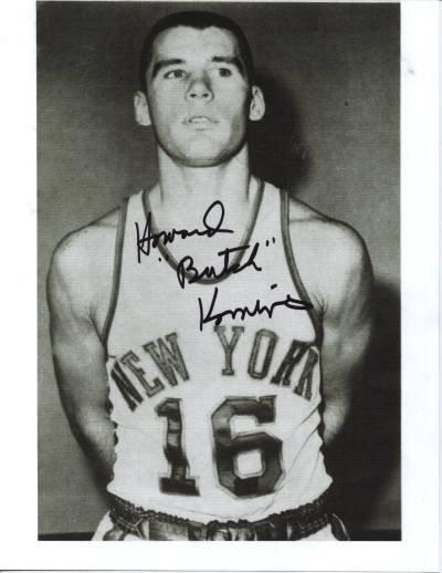 New York Knicks Signed Photo Howard Komives