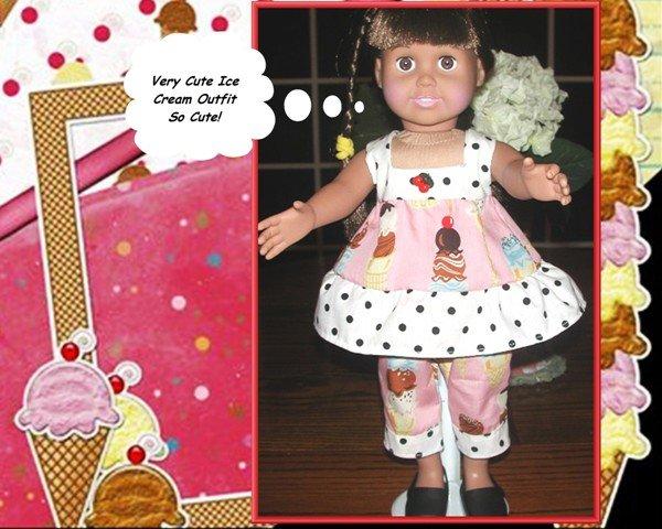 Doll Halter Top/Capris Sweet Tooth