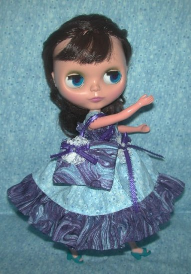 Misty Moonlight Dress for Blythe