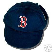 Boston Red Sox Official MLB Dog Baseball Cap Hat Size Small