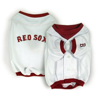 Boston Red Sox Official MLB Dog Jersey Shirt Size Medium
