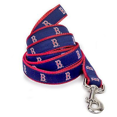 Boston Red Sox Official MLB Dog Leash 6 Ft Small