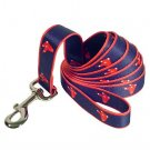 Boston Red Sox Logo Official MLB Dog Leash 6 Ft Size Wide