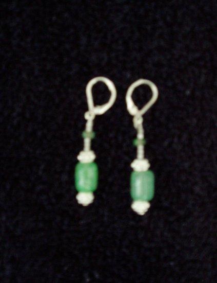 light green earring