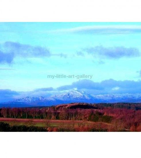 SCOTLAND IN WINTER LIMITED EDITION PHOTOGRAPHICE PRINT