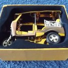 TUK TUK TRIKE TAXI SOUVENIR MODEL FROM THAILAND GOLD