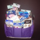 Scrapbook Caddy with TONS of Embellishments!