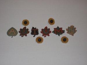Autumn Buttons