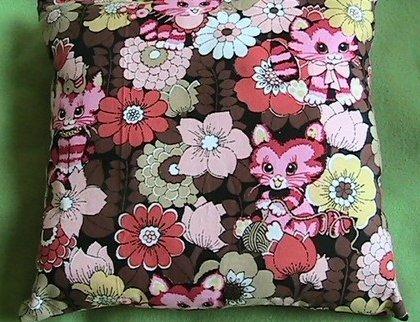 Pillow full of Smitten Kittens
