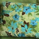 Pillow Shades of Blue and Green