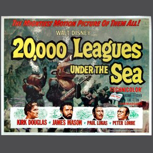 Movie Poster - 20,000 LEAGUES UNDER THE SEA