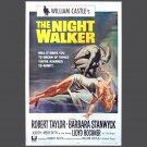 Movie Poster - THE NIGHTWALKER - Original w/photo