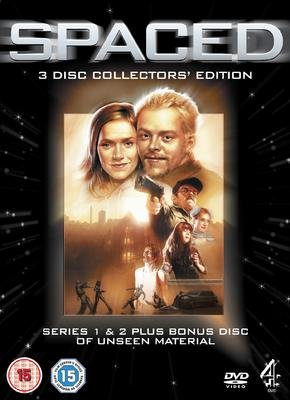 SPACED SERIES 1 & 2 COLLECTOR'S EDITION DVD SIMON PEGG NICK FROST