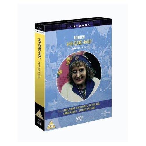 Hi-De-Hi Series 3 & 4 DVD