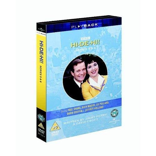 Hi-De-Hi Series 5 & 6 DVD