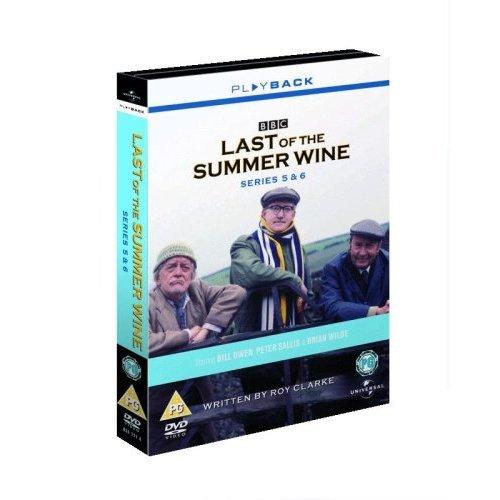 Last Of The Summer Wine Series 5 & 6 DVD