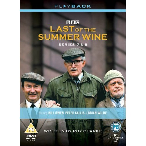 Last of the Summer Wine Series 7 & 8 DVD