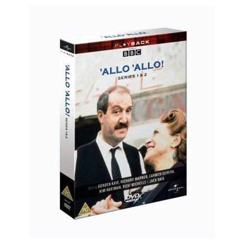 Allo Allo Series 1 & 2 DVD